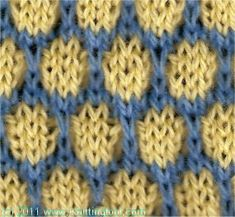 Knitting Stitch Reference : Tear Drop stitch pattern instructions - Knittingfool Stitch Detail ~ this is ...