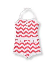 Janie and Jack Chevron Swimsuit