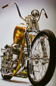 A beautiful custom bike from New York's own legendary builder, Indian Larry. Description from pinterest.com. I searched for this on bing.com/images