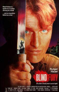 Blind Fury (1989) Original One-Sheet Movie Poster