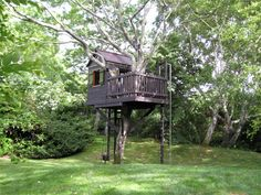 Barbara Butler-Extraordinary Play Structures for Kids-Long Island Tree House: Long Island Treehouse