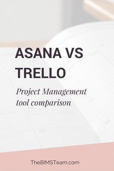 Project management tools for small business - Trello vs Asana