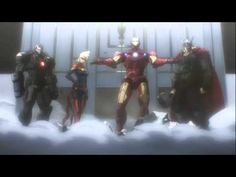 TRAILER PARK: Black Widow and the Punisher Team-Up in 'Avengers Confidential' Anime