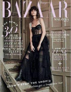 Antonina Petkovic - Harper's Bazaar Magazine Cover [Malaysia] (April 2017)