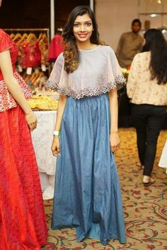 Colors & Crafts Boutique™ offers unique apparel and jewelry to women who value versatility, style and comfort. For inquiries: Call/Text/Whatsapp Indian Gowns Dresses, Pakistani Dresses, Indian Outfits, Bridal Dresses, Kurta Designs, Blouse Designs, Cape Designs, Kerala Engagement Dress, Cotton Dresses Online