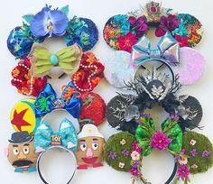 Our shop opens in 1 hour!! Here is the final lineup of all the styles available today! We have only one of most! (3 Te Fiti and 4 reversible sequin with bubblegum bow) here is how it will go. At 4pm I will begin posting available ears - to claim you will simply comment. If you claim a pair of ears screen shot them and send me that with your email address and I will send an invoice. Invoices will be due within 24 hours. That's it. Thank you guys so much for your support and good luck! Us Shop, Bubble Gum, Lineup, Finals, Sewing Patterns, Bows, Email Address, Screen Shot, Disney