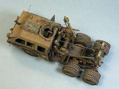 M26 Dragon Wagon Tamiya 1:35 Alexey Gruzdev Dragon Wagon, Wooden Truck, Model Hobbies, Military Modelling, Tamiya, Scale Models, Ww2, Tractors, Army