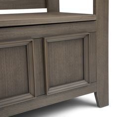 WYNDENHALL Halifax SOLID WOOD 48 inch Wide Transitional Entryway Storage Bench - 48 Inches wide - On Sale - Overstock - 7326885 Entryway Bench Storage, Bench With Storage, Storage Spaces, Entryway Ideas, Traditional Benches, Grey Room, Tufted Ottoman, Storage Compartments, Take A Seat