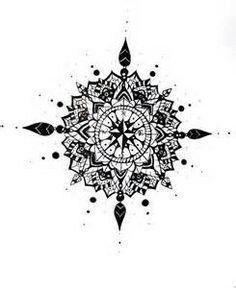 103 Best Compass Mandala Tattoo Ideas Images Geometry Tattoo