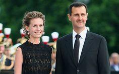 Президент Сирии Башар аль-Асад с женой Асмой.    Syrian President Bashar al-Assad and his wife Asma.