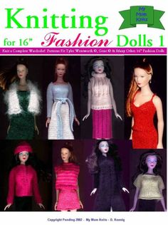 Knitting Collection for 16 inch Fashion Dolls      PDF