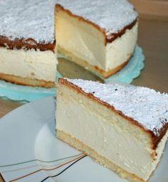Käsesahne - Torte - Cream cheese and whipped cream fridge cake - culinar. Spanish Desserts, No Cook Desserts, Easy Desserts, Food Change, Romanian Desserts, Cake Recipes, Dessert Recipes, Sweet Pastries, Sweet Tarts