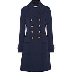 Altuzarra Altuzarra - Baker Double-breasted Wool Coat - Navy
