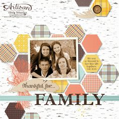 by Cindy Schuster, nutmeg creations: Artisan Wednesday WOW - MDS Thankful for Family