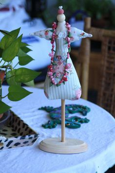 Jewelry Mannequin Angel Stand by sherimusum on Etsy, $25.00