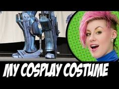 Cardboard RoboCop Cosplay - YouTube AMAZING!!!