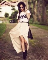 want this skirt... and starting to want a bowler hat!