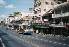 Film Photography, Street Photography, Malta Sliema, Bus Number, Blue Bus, The Other Side, Film Camera, Phone Backgrounds, Bangkok