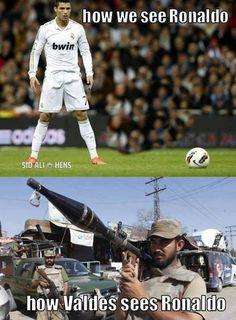 Ronaldo - Via @LeoVsCr7