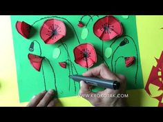 children activities, more than 2000 coloring pages Remembrance Day Activities, Remembrance Day Art, Kindergarten Crafts, Preschool Art, Art For Kids, Crafts For Kids, Poppy Craft, Anzac Day, Spring Art
