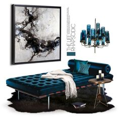 """""""Rhapsody in Teal"""" by sanguine-marble on Polyvore"""