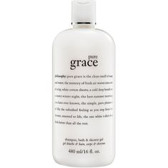 What it is: A three-in-one cleanser for hair and body infused with the soap and water fragrance of Pure Grace. What it is formulated to do: Pure Grace Foaming …