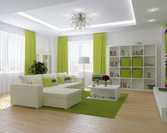 New false ceiling design ideas for living room 2019 The design of the false ceiling in the living room can be a factor in determining comfort throughout the apartment. You can choose single and multi-level structures Living Room Green, Living Room Decor Apartment, Bedroom False Ceiling Design, Apartment Living Room, House Interior, Apartment Decor, Interior Design Living Room, Ceiling Design Living Room, Living Design