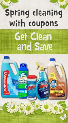 Doing some spring cleaning? Get free coupons for all your cleaning supplies at http://freeprintableshoppingcoupons.com/free-printable-grocery-coupons/. Save 1 dollar on Green Works, 75 c on Windex, 1 dollar on Scrubbing Bubbles, 1 dollar on Pledge and more.  All coupons are always 100% free.
