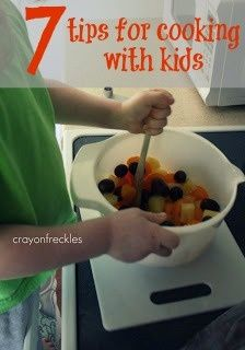 Cooking with Kids Tips  Kids in the Kitchen