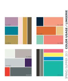 Lenzing Spring/Summer 2013 Color Trends | Color Usage for Lingerie | Fashion Trendsetter