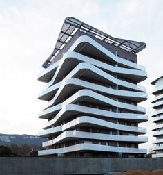 Logements Quai de la Graille, Grenoble, 2014 - ECDM Architectes #facade #balconies