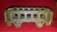 vintage Skiddoo 23 cast iron passenger train toy Cast Iron, It Cast, Kitchen Appliances, Toy, Train, Vintage, Cooking Ware, Home Appliances, Vintage Comics
