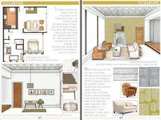 24 Best Interior Design Portfolios images in 2018 | Draw