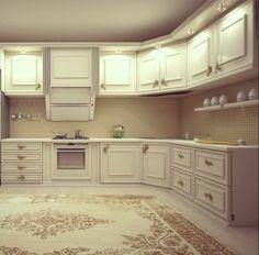 Harika bir mutfak örneğimiz...
