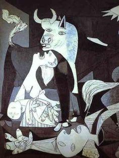 Picasso guernica détail (3)