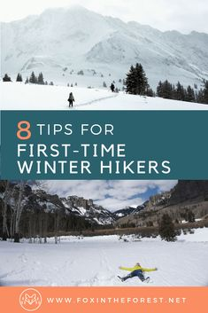 the Frosty Trail with these 8 Winter Hiking Tips for Beginners Tips and tricks for hiking and snowshoeing in winter. How to survive your first winter hike.Tips and tricks for hiking and snowshoeing in winter. How to survive your first winter hike. Winter Hiking, Winter Camping, Winter Travel, Winter Tips, Winter Fun, Winter Sports, Backpacking Tips, Hiking Tips, Hiking Gear