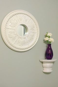 My Sweet Things » Blog Archive » Ceiling Medallion Mirror