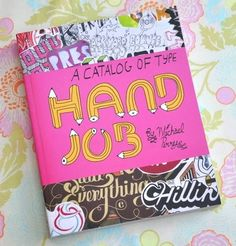 HandJob by Michael Perry (amazing hand drawn typography) Lead Lines, Hand Drawn Type, Greek Words, Visual Communication, Album Covers, Catalog, How To Draw Hands, How To Get