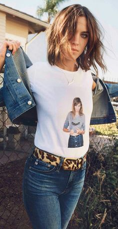 Alexa Chung for AG Jeans new collection launched on 23rd July