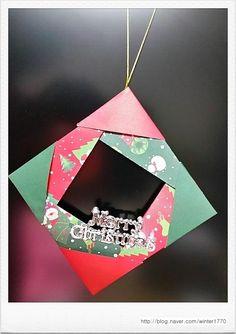 감성쫑이 쫑이닷컴 ~ ^^* 감성쫑이 쫑이닷컴에서 누구나 쉽게 만들수 있도록 준비한 크리스마스 미니리스 ...