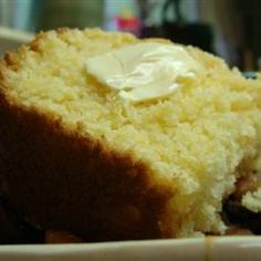 "Delicious, buttery corn bread. For some reason, allrecipes keeps redirecting this link to a different recipe for ""sweet corn bread."" NOT THE RIGHT RECIPE! Search for ""buttery corn bread"" for this recipe :)"