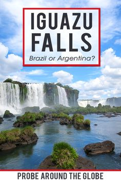 Visit the largest waterfalls in the world with my 2-day itinerary for Iguazu Falls in Argentina and Brazil with practical tips for independent travelers #iguazu #iguazufalls #argentina #argentinatravel #waterfalls