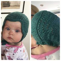 Ravelry: Havskumkyse pattern by Nunnun Knitting For Kids, Baby Knitting Patterns, Knitting Projects, Knitted Baby Clothes, Knitted Hats, Baby Barn, Bonnet Hat, Baby Bonnets, Kids Hats