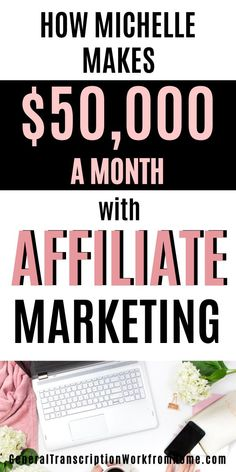 Learn How Michelle Makes $50,000 /MONTH with Affiliate Marketing; how to make money online with affiliate marketing. Learn how to make money blogging from a successful affiliate. #affiliatemarketing #affiliate #affiliatemarketingforbeginners #affiliatemarketingtips #passiveincome #onlineincome #affiliateprograms #makemoneyonline #makemoneyblogging Make Money On Amazon, Make Money Online, How To Make Money, Writing Strategies, Blog Writing, Amazon Affiliate Marketing, Online Income, Work From Home Jobs, Online Work