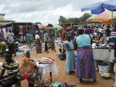 The local African markets is the heart of the community. Ever wonder what Africa is like? Take a look!
