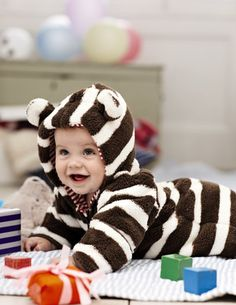 So snuggly! Boden's Teddy All-in-One for baby boys and baby girls (0-24mths)