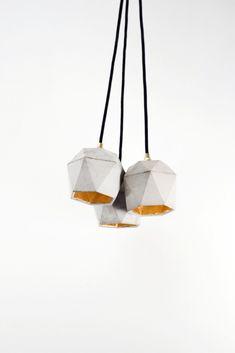 [T2]set Lampenbündel trianguliert - GANTlights - 2