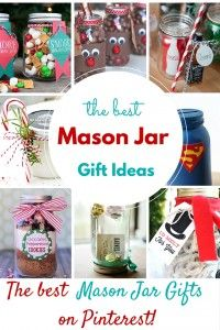 The Best Mason Jar Gift Ideas on Pinterest