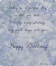 Birthday wishes for colleagues quotes and messages happy birthday check out this collection of nice and professional happy birthday wishes for colleague and coworker for male and female m4hsunfo