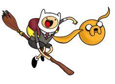 Adventure Time Harry Potter Mashup -